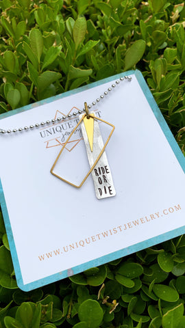 Ride or Die Necklace