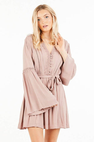 LoveBound Bell Sleeve Dress