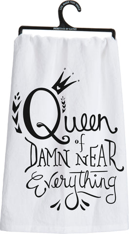 PBK Dish Towel - Queen