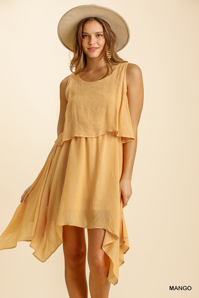 Mango Butter Hi-low Dress
