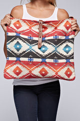 Tapestry Cross-body Bag (Orange Multi)