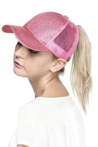 Glitter Babe Cap (Various Colors)