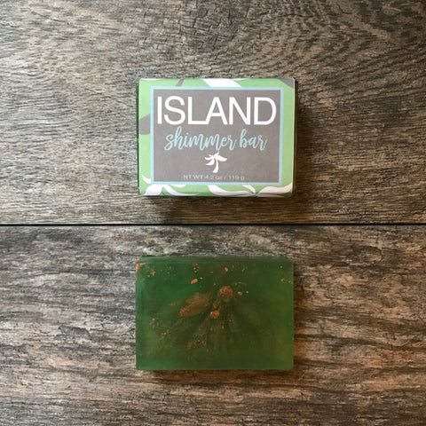 Seaside Designs - Island Shimmer Soap