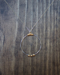ReStrung Jewelry - Karma Necklace