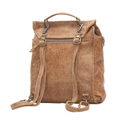 Glorious Leather Convertible Backpack