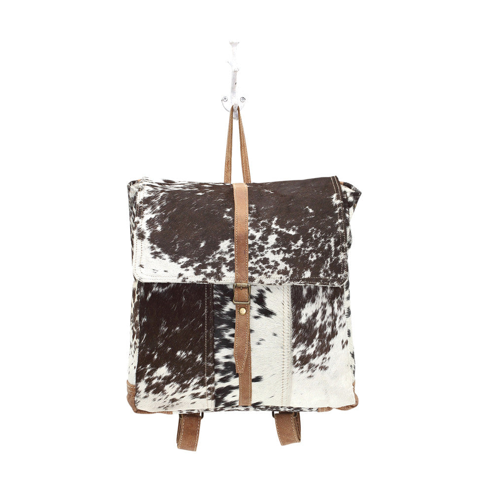 Lockhart Hair-on Cowhide Backpack