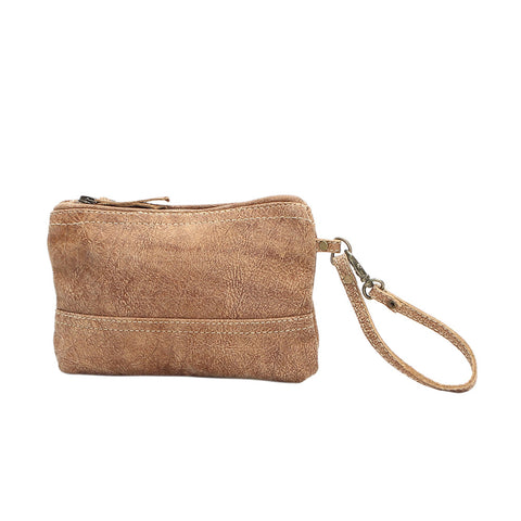 Lucia Leather Clutch