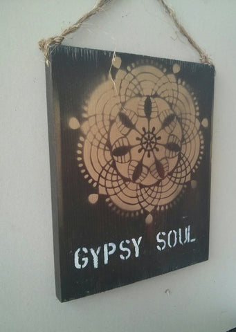 Sea Gypsy California - 9 x 12 Gypsy Soul Sign