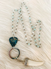 BGB Guitar Pick Necklace - Maren