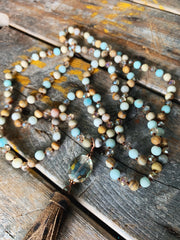 Bennett Natural Stone Necklace