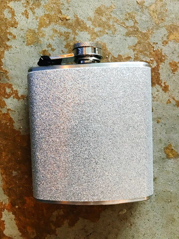 Sparkletini Party Flask (Silver)