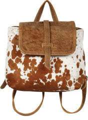 Atlas Leather Backpack