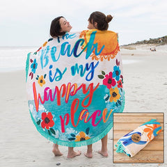 Oversized Round Beach Towels