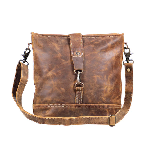 Real Bliss Leather Shoulder Bag