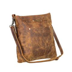 Beast Leather Shoulder Bag