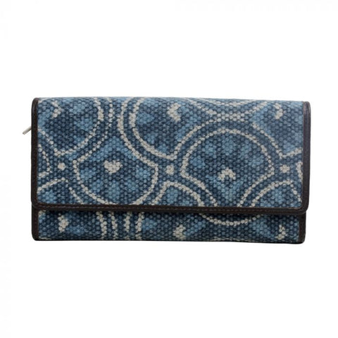 Indigo Leaf Wallet