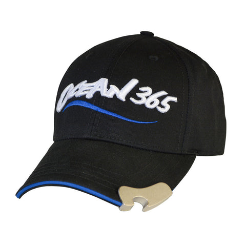 Pop-a-Top Men's Black Cap