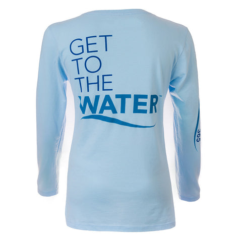 Get To The Water™ Blue Long Sleeve