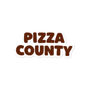 Pizza County Sticker