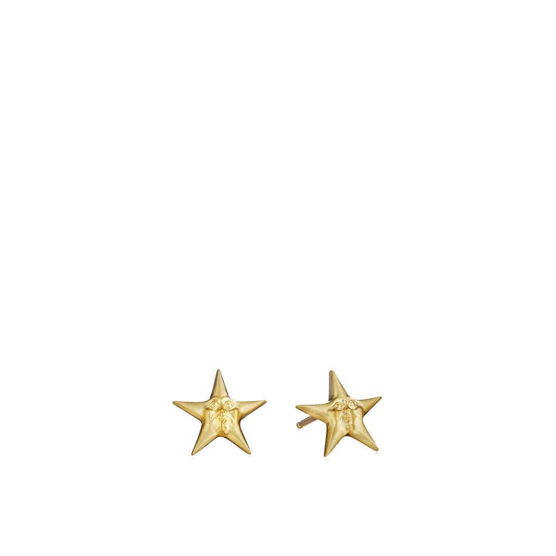 Invisible Starface Stud Earrings