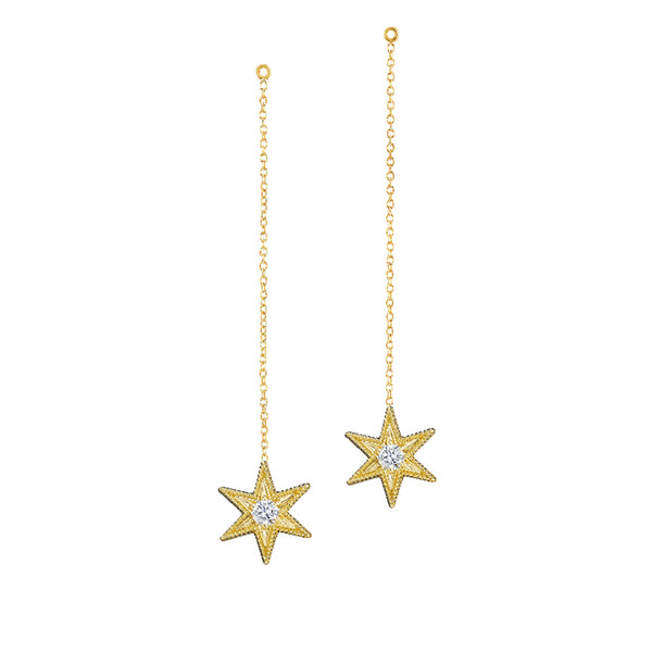 As You Wish Six Point Star Earrings