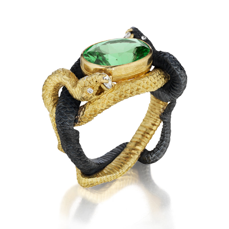 Fighting Vipers Cocktail Ring