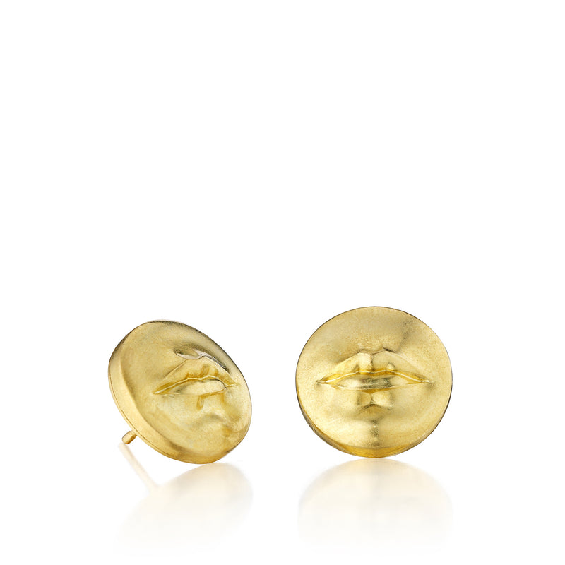 """Kiss Me"" Stud Earrings"