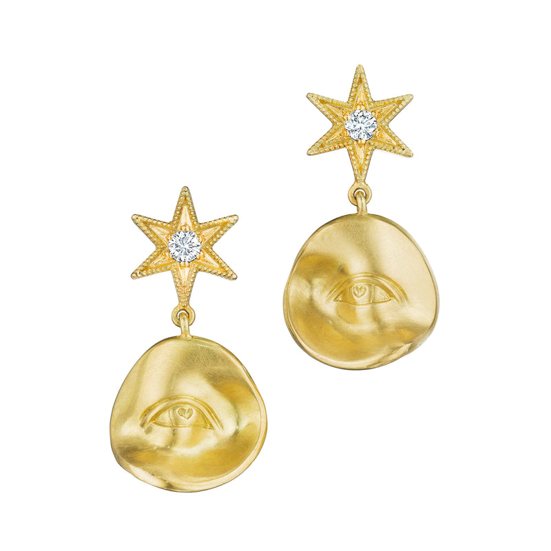 Star Struck Wandering Eye Earrings