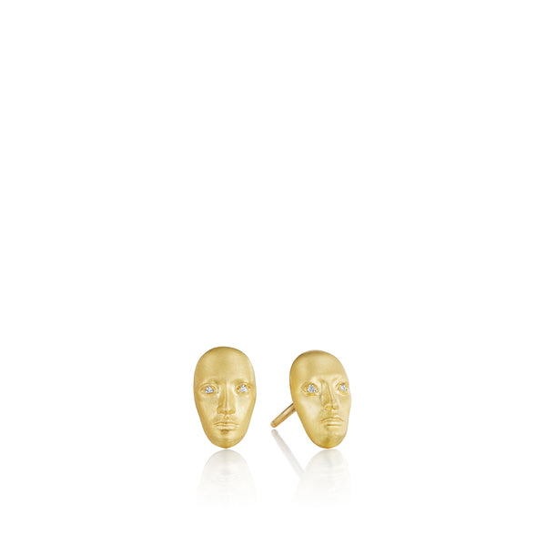Tiny Vulcana Stud Earrings