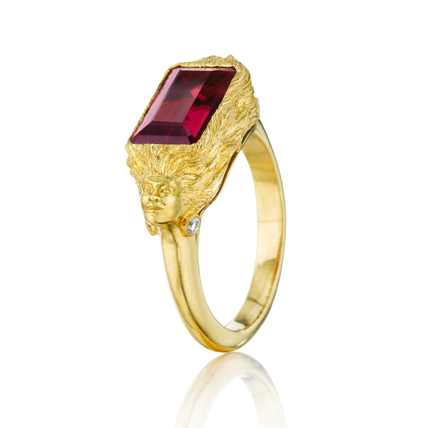 Rubelite Muse Ring