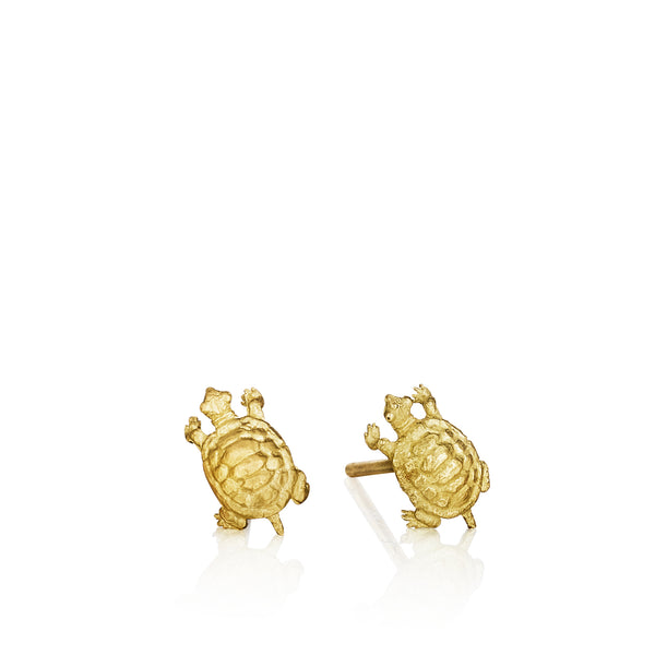 Tiny Terrapin Stud Earrings