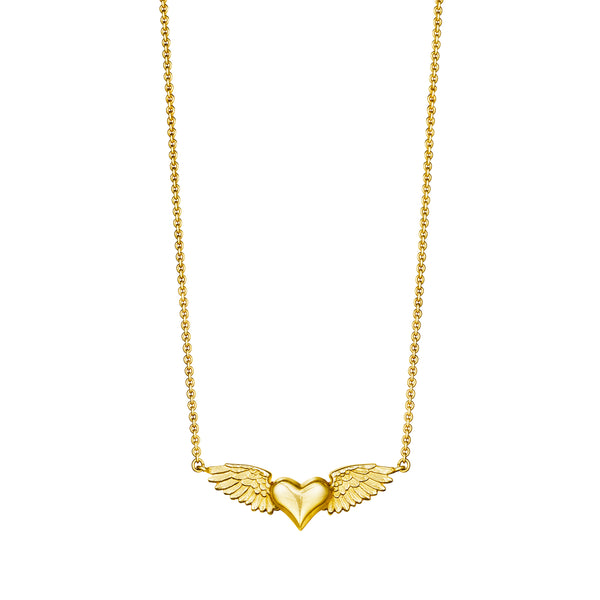 Flying Heart Necklace