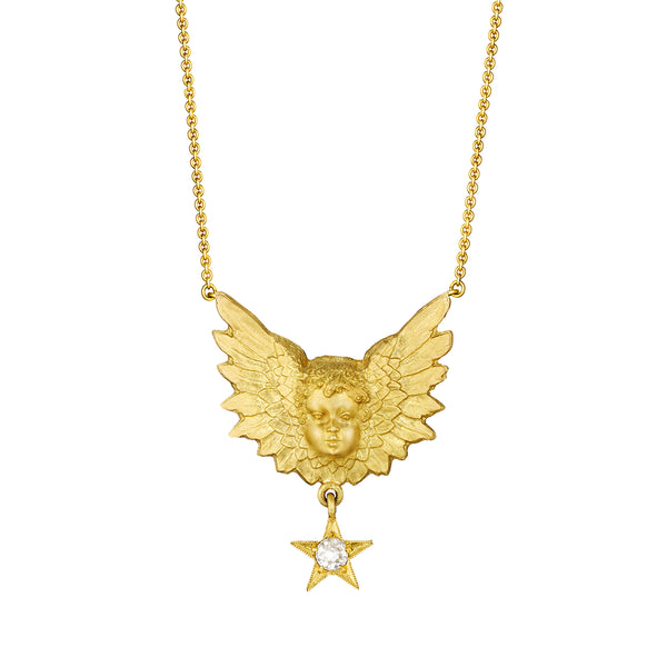 Small Putti Necklace
