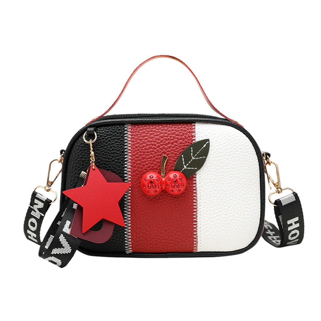 Ladies Apple Shoulder Handbag