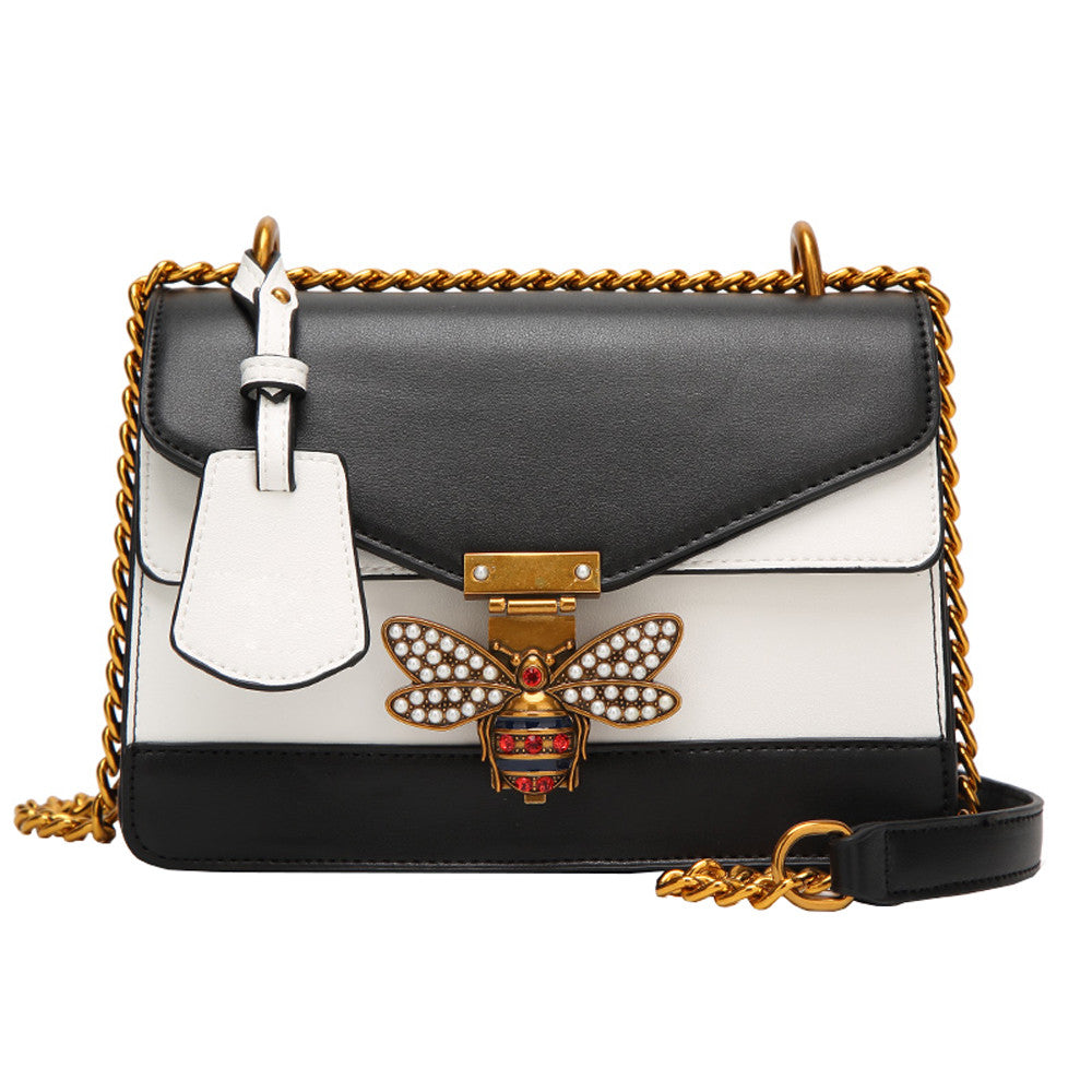 Women's Luxury Bumblebee Clip Handbag