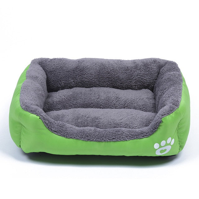 Soft Warm Waterproof Fleece Dog Bed