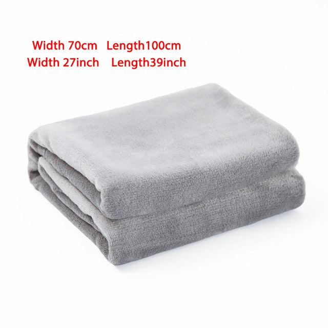 Soft Warm Fleece Dog Blanket