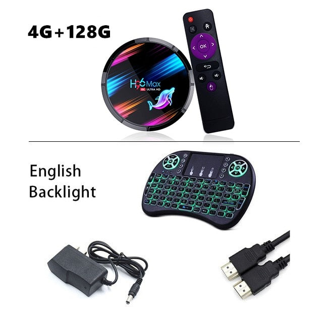 Smart Set TV Box with Bluetooth and Wifi
