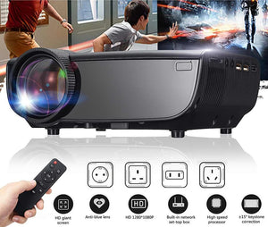 Portable Mini 3D TV Projector