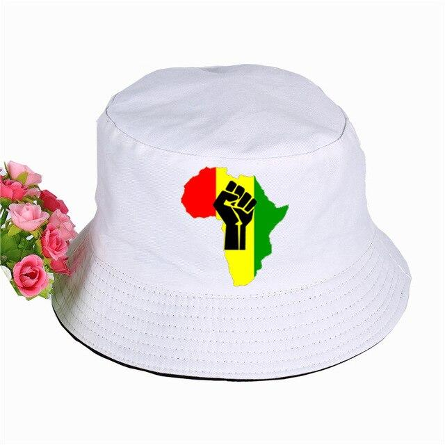 New AFRICA Power Rasta Bucket Hat - Exquisite Supplies LLC