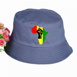 New AFRICA Power Rasta Bucket Hat
