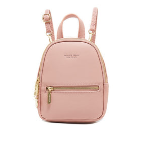 Forever Young Designer Women Leather Small Backpack