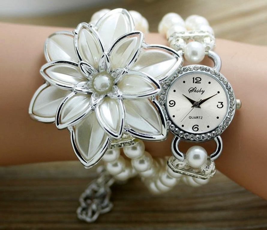 Women's Flower Watch Bracelet