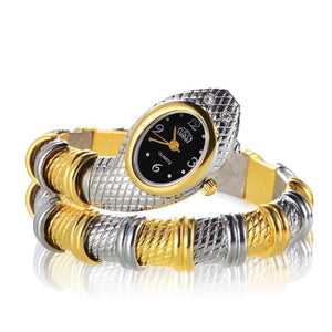 Snake Shaped Fashion Watch