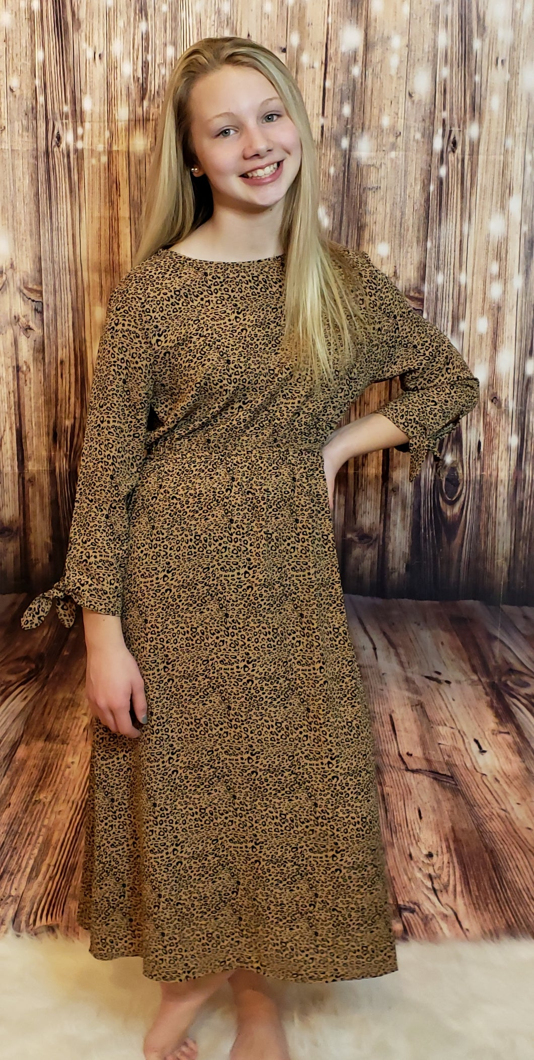 Bethany Animal Print Dress