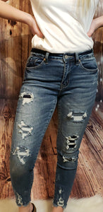Debra Distressed KanCan Jeans