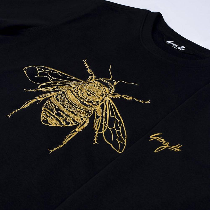 Signature Bee Embroidered Sweatshirt