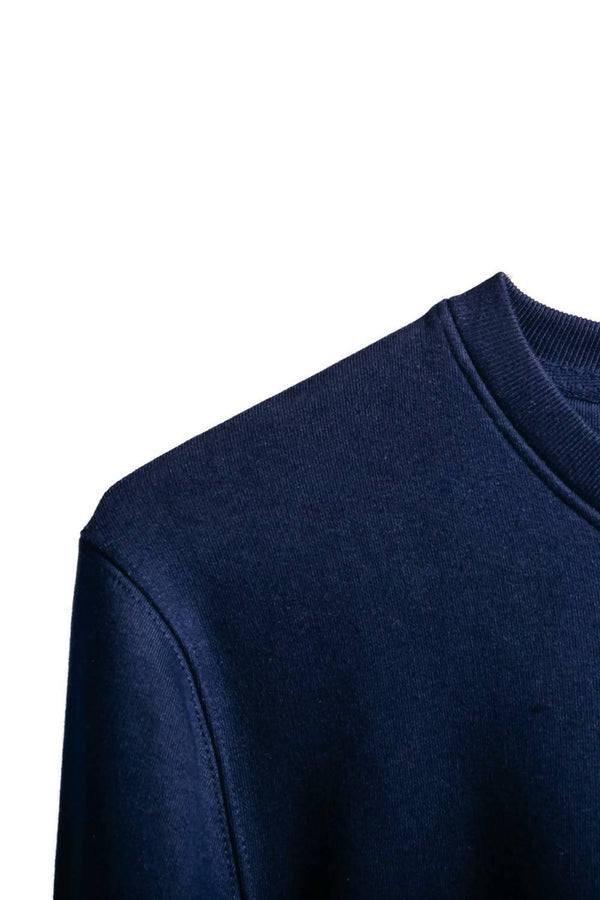 Organic Trio Sweater - Navy