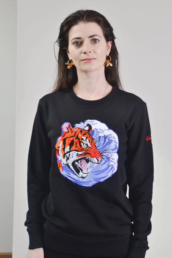 The Sustainable & Endangered | Tiger Sweatshirt