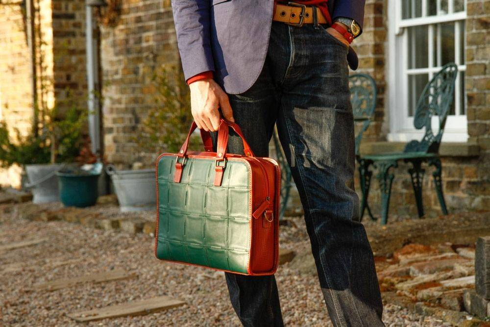 Fire & Hide Compact Briefcase
